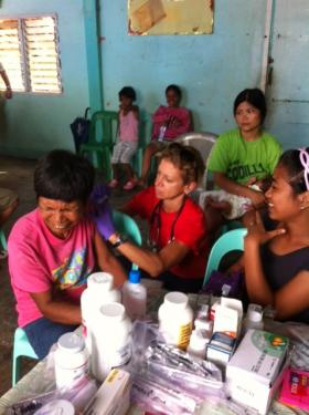 Olathe based Heart to Heart International workers are collaborating with local doctors to provide medical relief in the Philippines.