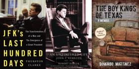 Steve Kraske speaks with authors Thurston Clarke, Robert Dallek and Domingo Martinez.