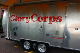 StoryCorps collects audio recordings of personal stories from people all over the country.