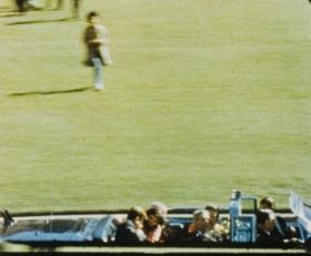 The Zapruder film recorded the moment Kennedy was shot.