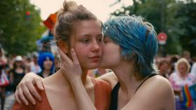 Adèle (Adèle Exarchopoulos) falls for Emma (Léa Seydoux) in 'Blue is the Warmest Color.'