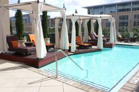 Hotel Sorella rooftop in Houston