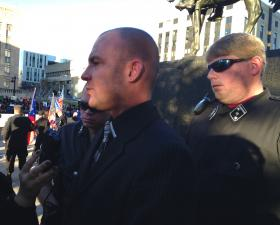 Commander Jeff Schoep of the National Socialist Movement.