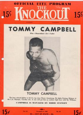 """Kansas City, Ks. native Tommy Campbell was known as the """"Chocolate Ice Cube."""""""