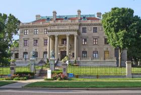 Corinthian Hall, 3218 Gladstone Blvd, is the home of the Kansas City Museum. It's been mostly closed for renovations since 2008.