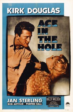 Ace in the Hole is one of the DVD Guru's favorite films about reporters.