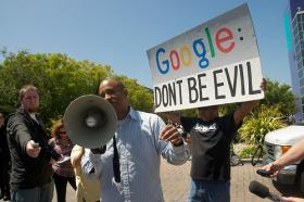 How Google lives up to its 'Don't be evil' slogan is on the Ethics Professors' slate of topics on Up to Date.