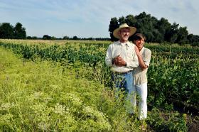 Organic farms are growing in Missouri and Kansas.