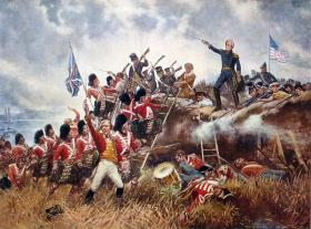 Andrew Jackson led forces in the Battle of New Orleans in 1815.