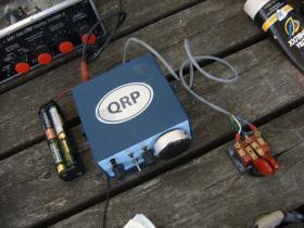 Ham radio operators can communicate with basic equipment like this.