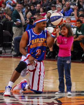 The Harlem Globetrotters come to town this weekend.