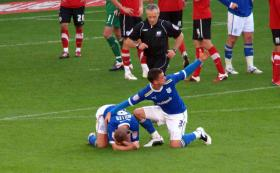 Head injuries happen in many sports, including football and soccer.