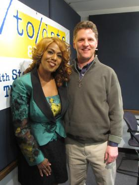 Singer Jennifer Holliday joins Steve Kraske in the studio for Up to Date.
