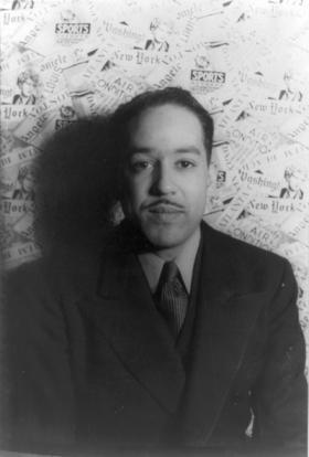 Langston Hughes in 1938