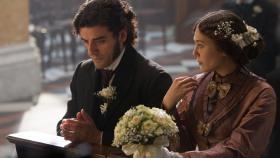 "Oscar Issac and Elizabeth Olsen carry on a torrid affair in ""In Secret,"" based on Émile Zola's ""Therese Raquin."""