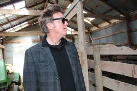 Chuck Mead remembers seeing a colt born in this barn on his parents' property south of Lawrence.