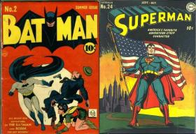 Real life often inspired storylines in the comics.