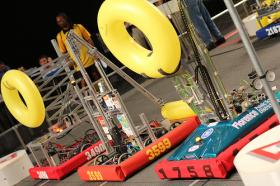 High school students will put their robots up for competition this weekend.