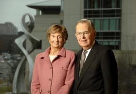 Stowers Institute for Medical Research founders, Virginia and Jim Stowers, Jr.