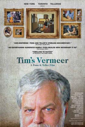 'Tim's Vermeer' is on Cynthia Haines' list this weekend.