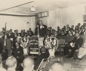 Church communities fostered the rise of African-American leaders.