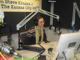 Gina Kaufmann previously worked at KCUR as the co-host of The Walt Bodine Show from 2008-2010.