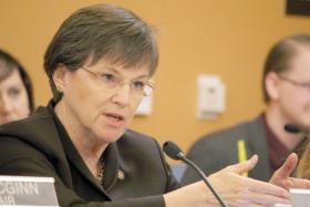 "Democratic Sen. Laura Kelly said the KU Med facilities ""will not pass muster."""