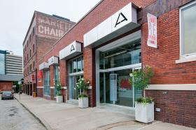 Mid-America Arts Alliance, founded 40 years ago, is located in the Crossroads Arts District.