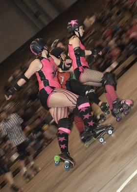 Dead Girl Roller Derby has its first double-header of the season this weekend.