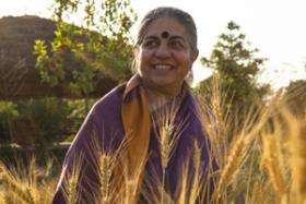 Dr. Vandana Shiva stops by KCUR to talk about the value of diversity in culture and in agriculture.