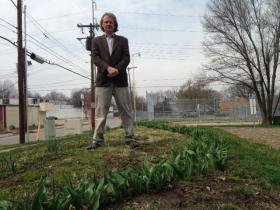 Tulips On Troost visionary Durwin Rice believes the tulips will survive on Troost