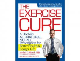 Dr. Jordan Metzl is the co-author of 'The Exercise Cure: A Doctor's All-Natural, No-Pill Prescription for Better Health and Longer Life.'