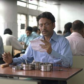"""Irrfan Khan portrays Saajan in """"The Lunchbox""""."""