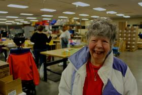 Nancy Swogar is one of about 230 people served by Johnson County Developmental Supports.