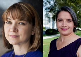 Tamara Keith and Margaret Talev both cover the White House.