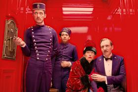 'The Grand Budapest Hotel' made critic Steve Walker's list this weekend.