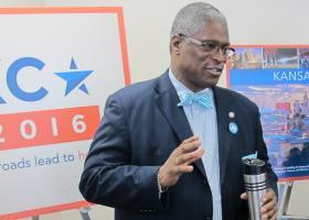 Kansas City Mayor Sly James likes Kansas City's chances to host the GOP convention.