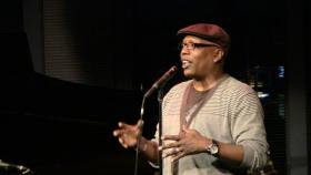 Poet Glenn North has held court at the American Jazz Museum's Blue Room for the past decade.
