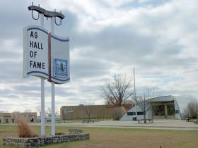 The National Agricultural Center and Hall of Fame is located in Bonner Springs, Kan.
