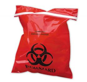 Public works officials in Kansas City, Mo., are warning residents not to leave biohazard bags on their curbs — because the city won't take them.