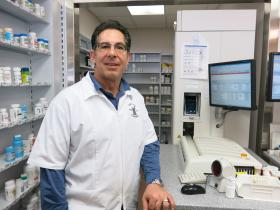 Pharmacist Pete Spalitto favors prescription drug monitoring in Missouri.