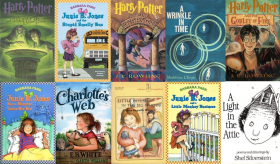 Some of the most popular juvenile books have remained favorites for decades.