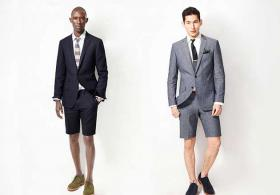 Suits with shorts are a controversial choice for work attire.