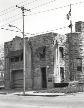 The Black Archives of Mid-America moved in 1976 to the Firehouse No. 11, which housed the first all-black fire squad at 2033 Vine St.
