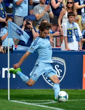 Sporting KC player Graham Zusi will play for Team USA during the World Cup.