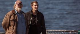 "Brendan Gleeson and Taylor Kitsch work out some father-son issues in Newfoundland in ""The Grand Seduction."""