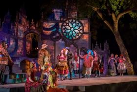 """""""The Winter's Tale"""" at the Heart of America Shakespeare Festival."""