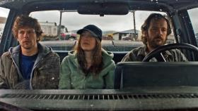 Jesse Eisenberg, Dakota Fanning, and Peter Sarsgaard star in 'Night Moves,' directed by Kelly Reichardt.
