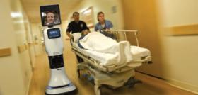 Sophisticated medical robots like these are being used at a growing number of hospitals in Kansas and elsewhere, including small, rural facilities such as Hamilton County Hospital in Syracuse. Chief executive Bryan Coffey credits a robot with helping turn around the hospital's troubled finances while saving residents long drives to big-city medical centers for specialty care.