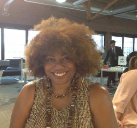 Cecilia Belser-Patton is one of the Lean Lab fellows who has been working on innovative ways to help public schools in Kansas City, Mo.